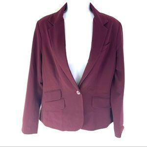 New York & Co Women's Purple Blazer 10